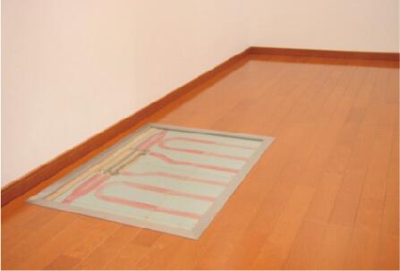 ヒートポンプ式床暖房システム